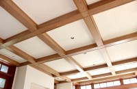 Boxed Beam Ceiling - Home Design