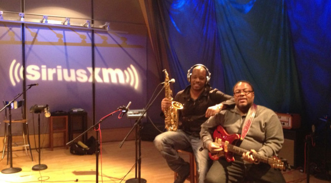 Jackiem Performs Live On Sirius XM Water Colors