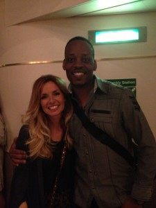 Jackiem Joyner and Candy Dulfer