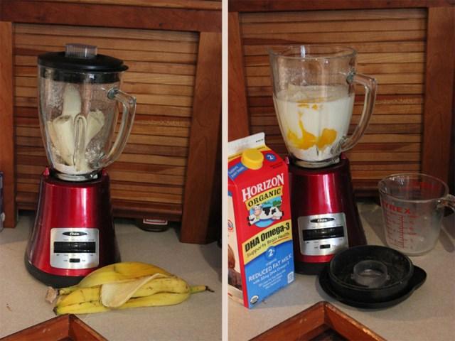blueberry banana oat pancakes.1