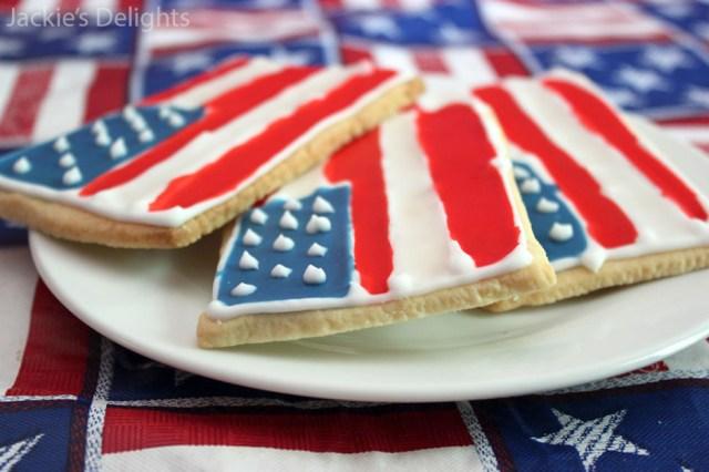 flag sugar cookies.1