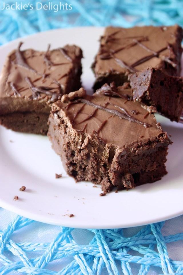 Mocha Mousse Brownies.4