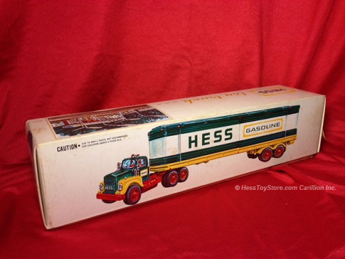 Hess 1975 Box Trailer Replacement Carton Jackie39s Toy Store
