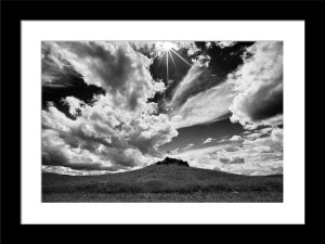 Framed Palouse Star