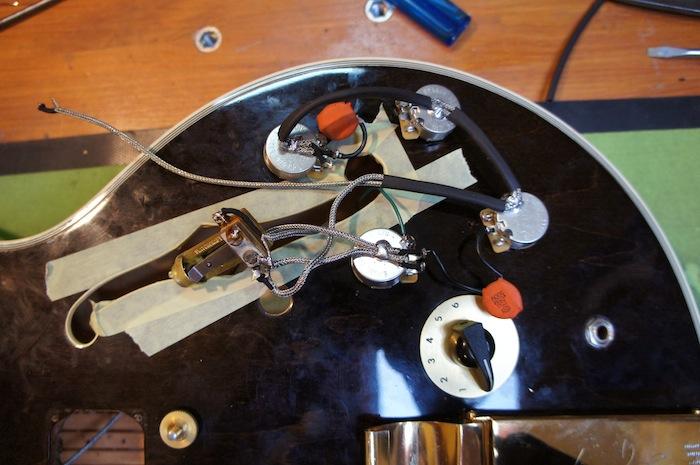 Professional Guitar Re-wiring Service Jack\u0027s Instrument Services