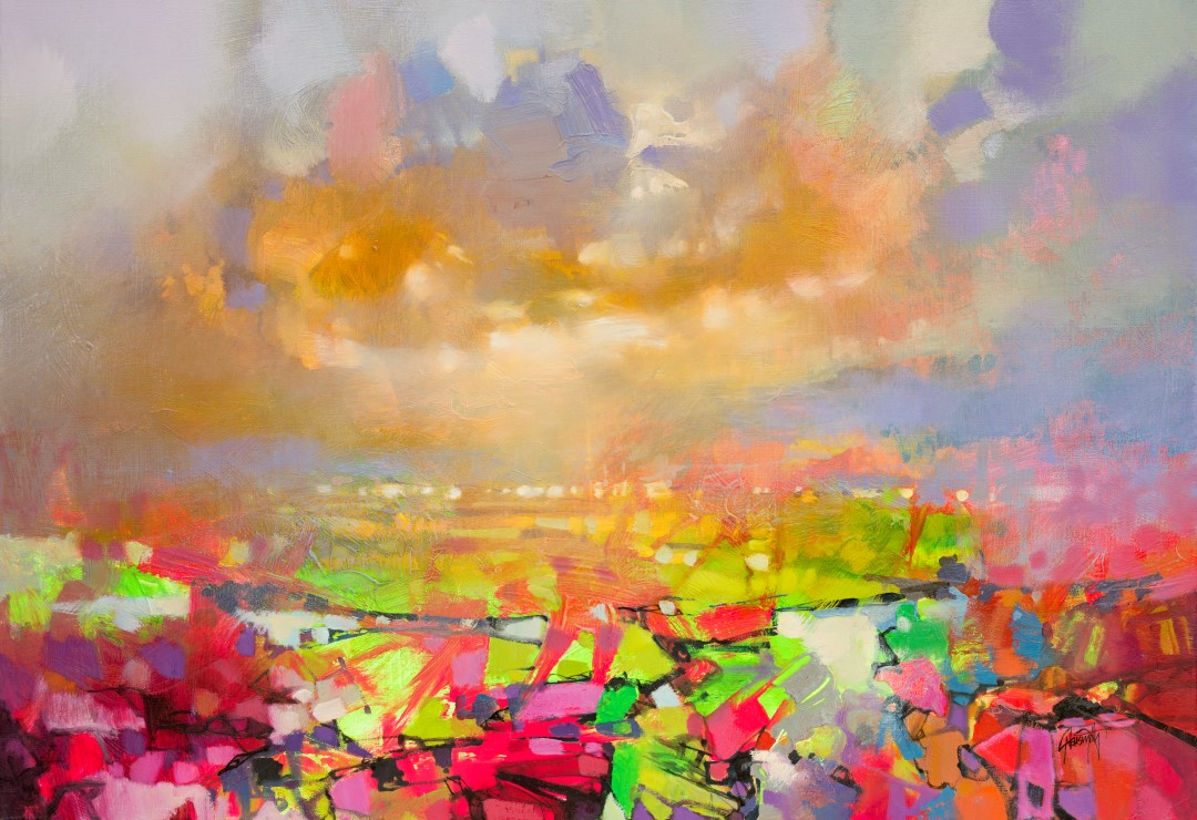 Bright Colours Painting Landscape Painter Scott Naismith Discusses Bright Colours His