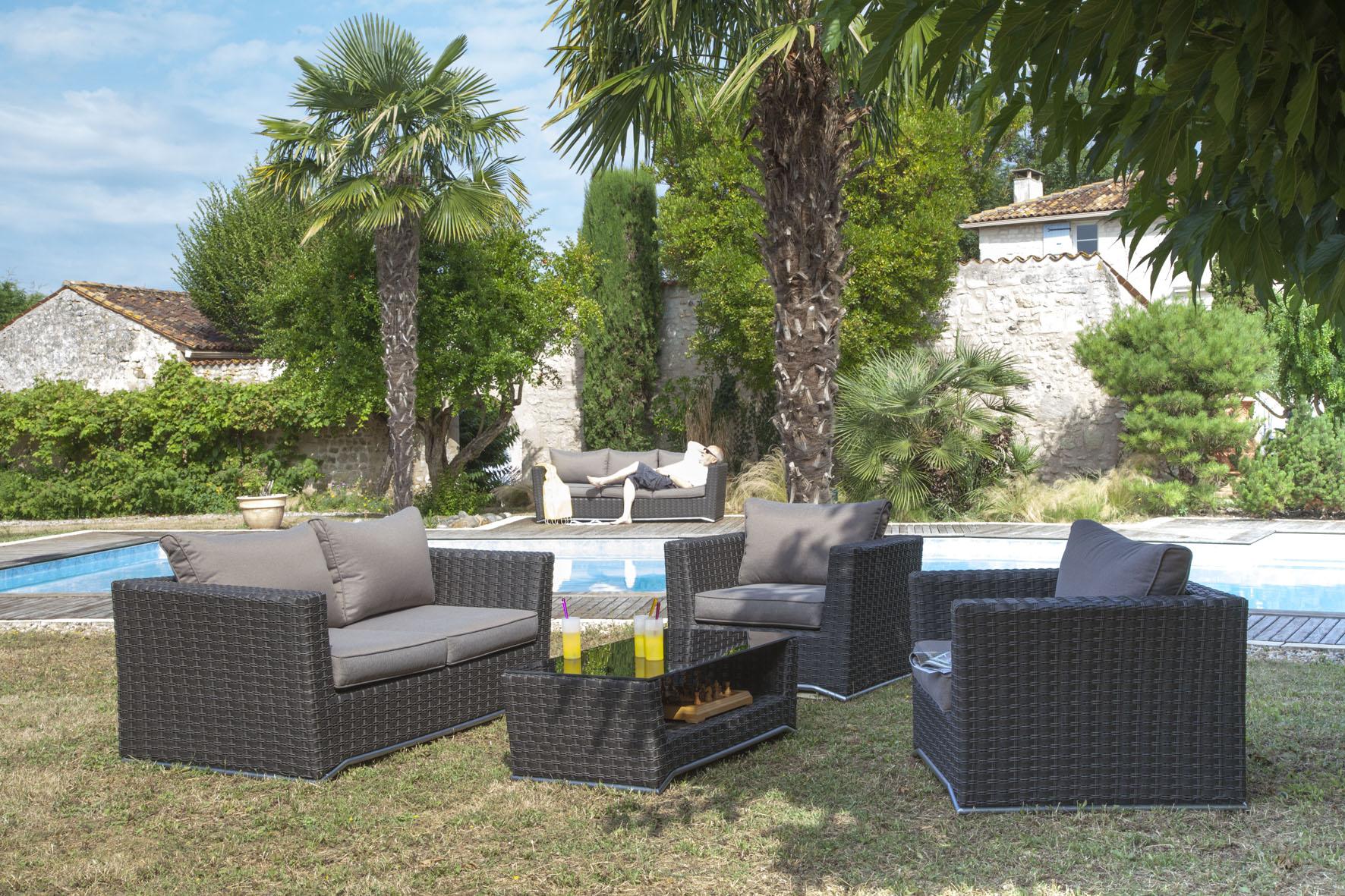 Proloisirs Salon De Jardin | Élégant Salon De Jardin Proloisirs ...