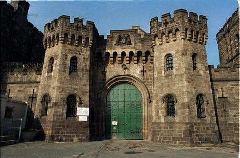File picture of Armley Prison in Leeds, West Yorkshire where Shahid Mahmood Aziz was killed after being put in a cell with monster Peter McCann.