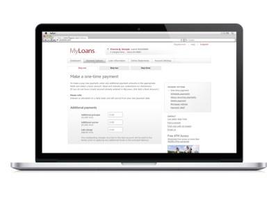 Financial Application UI Design MI