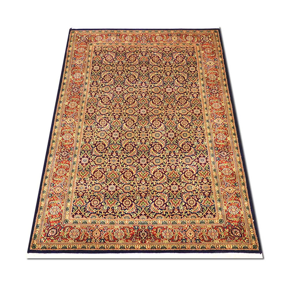 Size 4393quot X 6391quot Herati Wool Rug From India