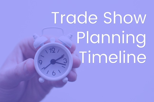 Trade Show Planning Timeline Jacoby Expo