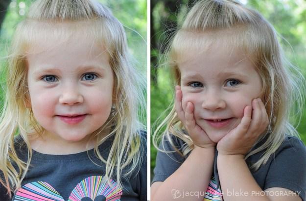 Outdoor toddler photos at Ham Lake Park