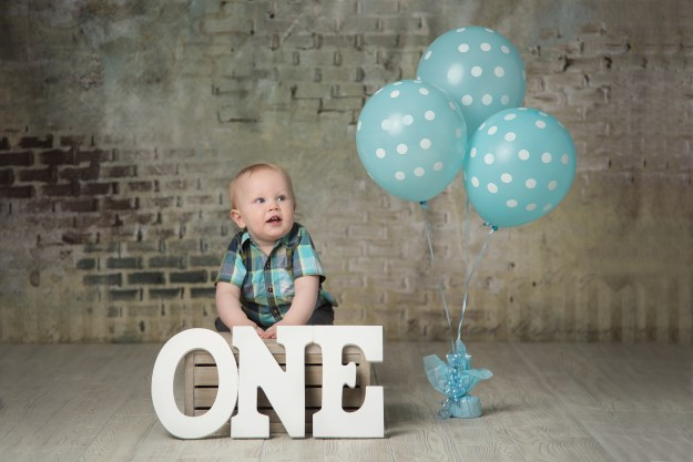 First Birthday Photo Session, Ham Lake Photography Studio