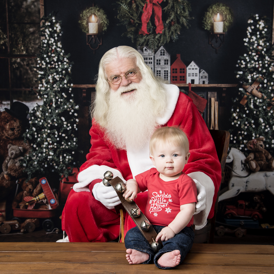 Santa photo sessions, ham lake photography studio