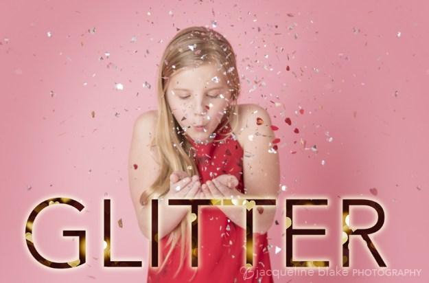 ham lake photographer, glitter valentine's day photos