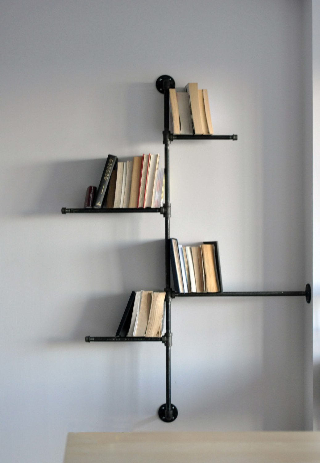 Wall Book Racks Condo Life Bookshelves Lark And Linen