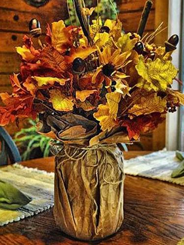 Rustic Fall Wallpaper Easy Thanksgiving Decoration Ideas