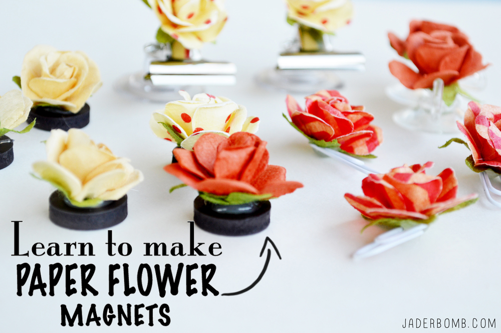Things To Make With Paper Flowers - Jaderbomb