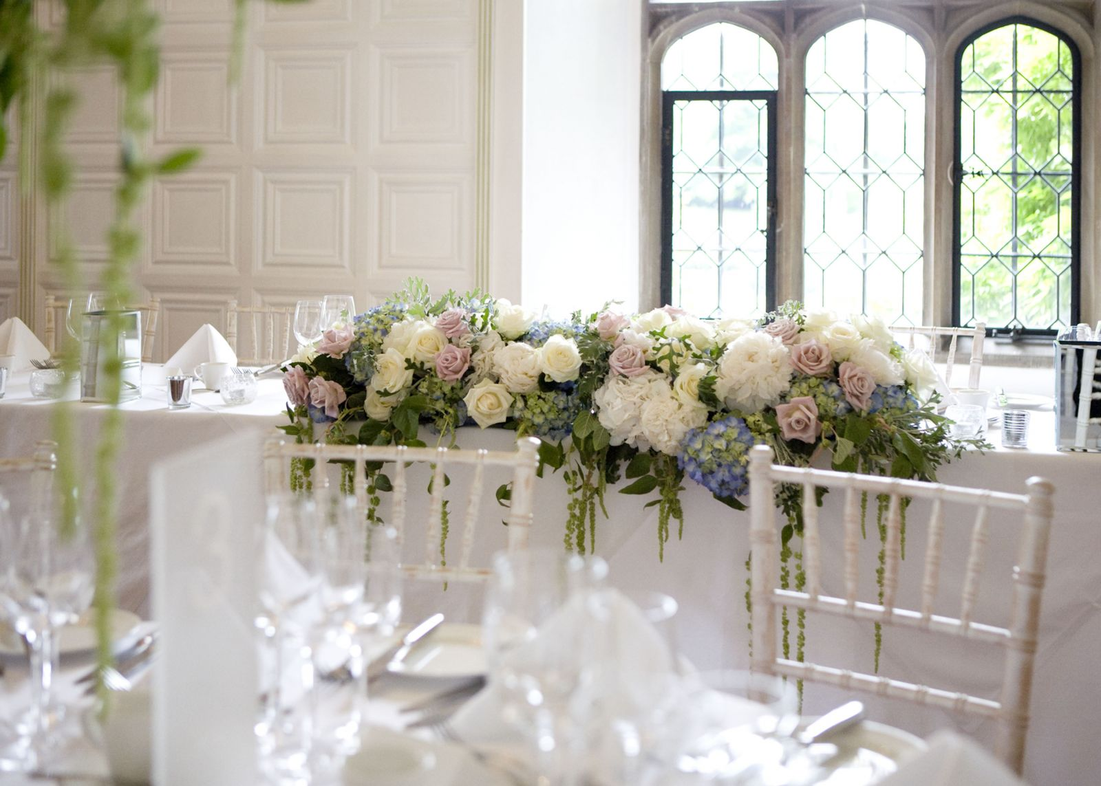 Wedding Flowers How To Style Your Top Table O Our Blog
