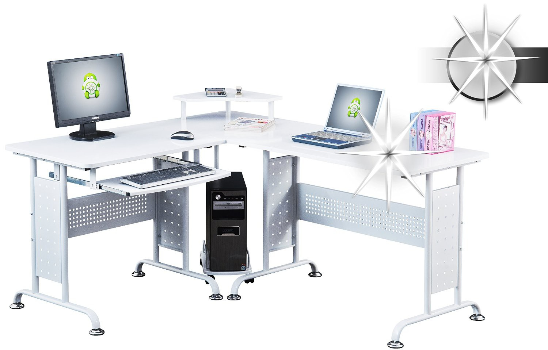Bureau informatique verre bureau verre trempe noir awesome table