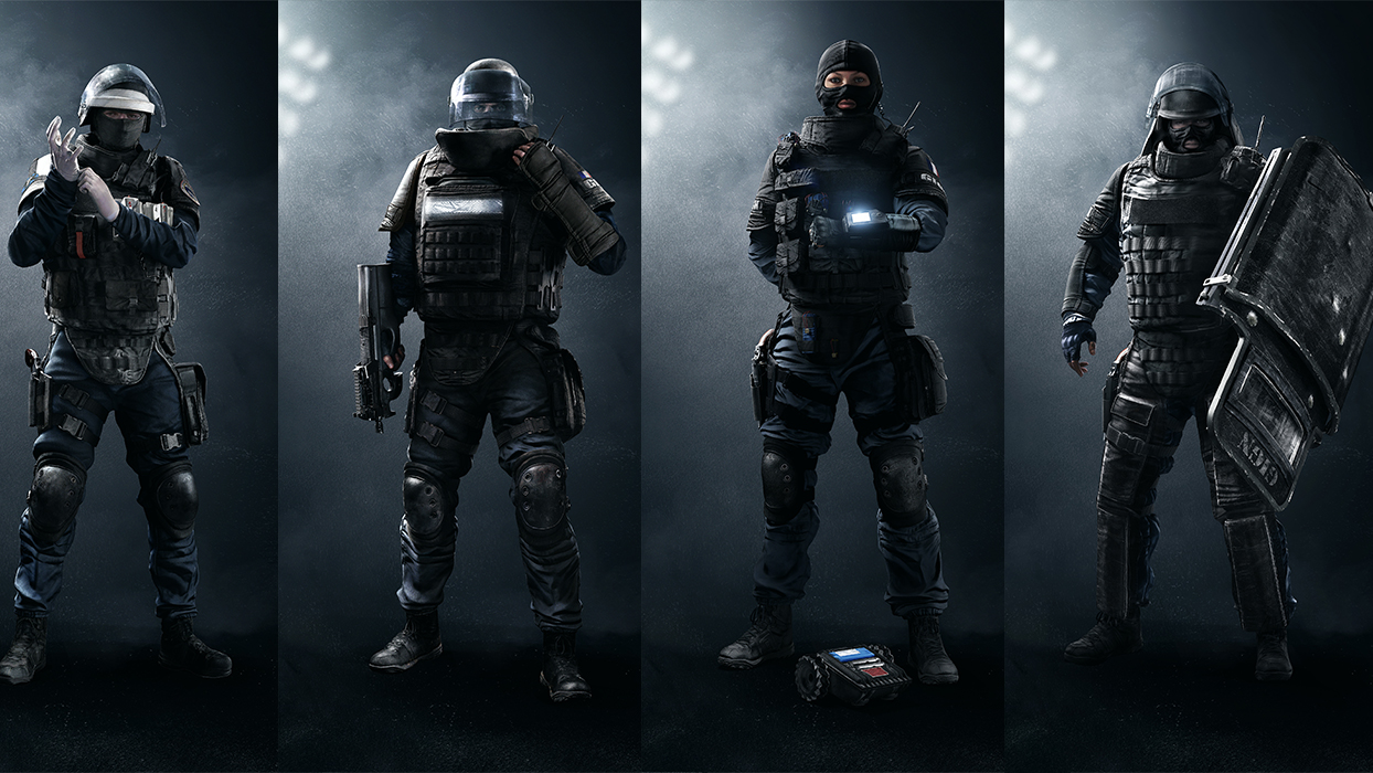 Fall Be Kind Wallpaper New Rainbow Six Siege Video Introduces The French Gign