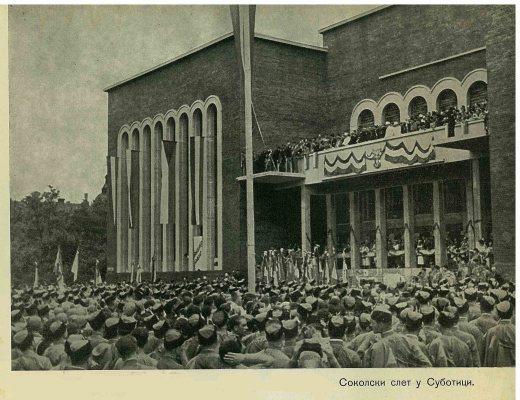 Слет у Суботици 1936. Године