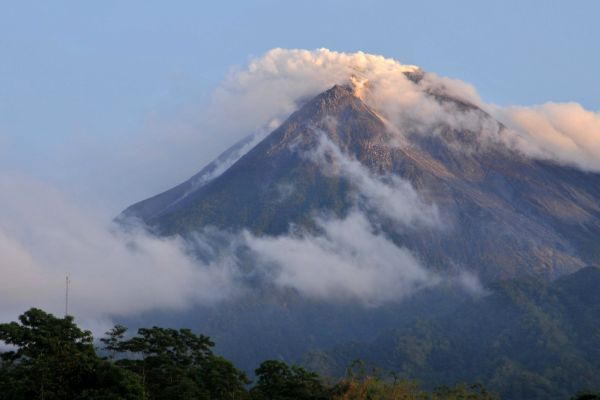 The Muhammad Ali Mount Merapi Volcano Indonesia | Jafria News