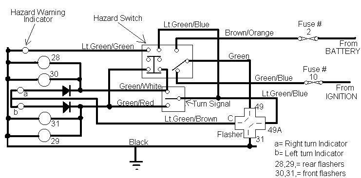 Hazard Switch Wiring Wiring Diagram