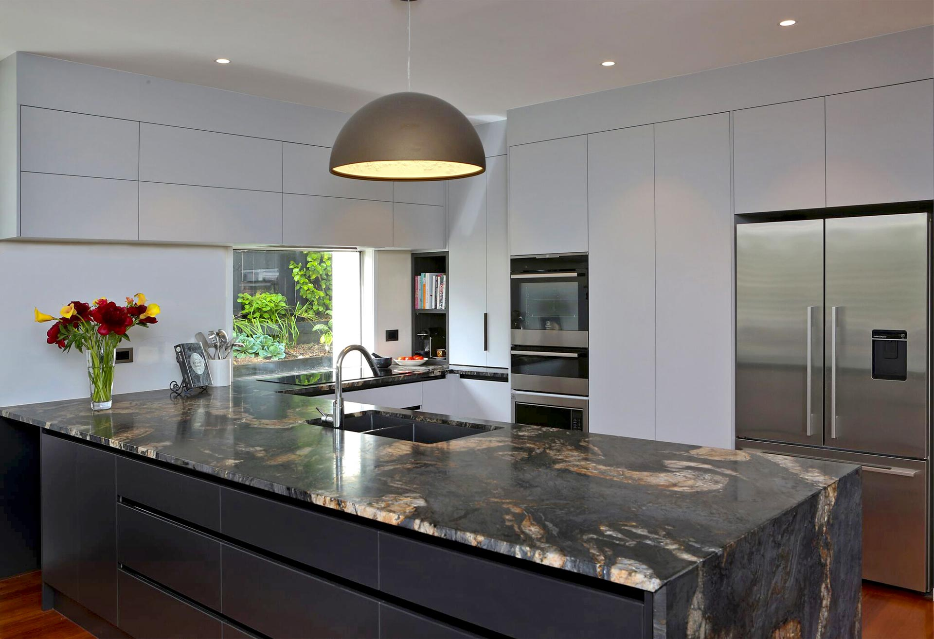 Grey Benchtop Kitchen Amazing Granite Benchtop Adds Wow Factor Jag Kitchens