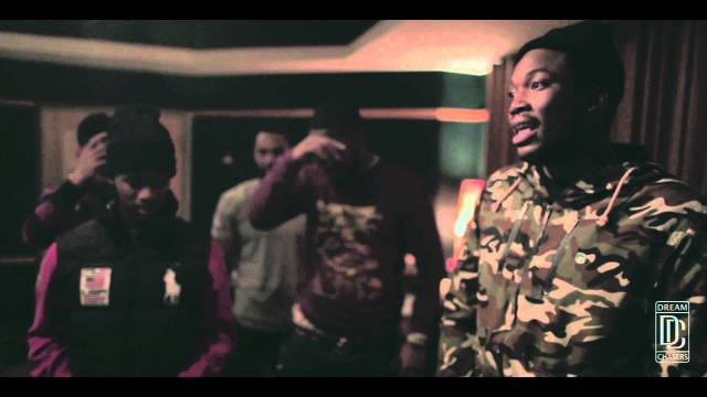 Dreamchasers – Louie V Gutta & Meek Mill Freestyle in Studio 2013