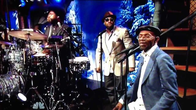 Video: Beres Hammond on Late Night Jimmy Fallon 2012