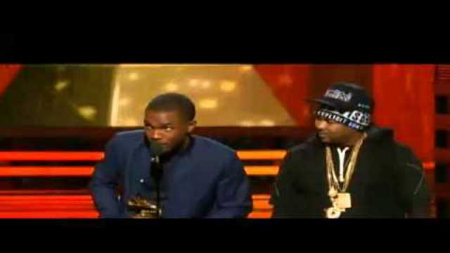 Video: Frank Ocean, The Dream and Jay-Z GRammy 2013 Acceptance Speech