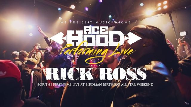 Ace Hood Performing Live w/ Rick Ross at Birdman Birthday All Star Weekend 2013