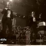 Justin Timberlake & Jay-Z Performance At The Grammys 2013