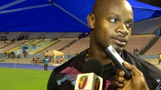 Asafa Powell Speaks About Pulling Up In The 100m at JAAA All Comers Meet