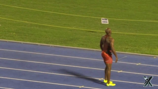 Asafa Powell Pulls Up in 100m at JAAA Meet 2013