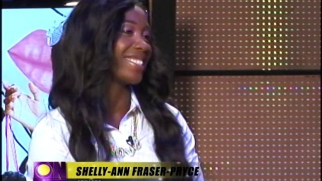 Onstage TV Interview: Shelly-Ann Fraser-Pryce (June 8, 2013)