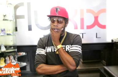 Trinidad James Won't Reveal What He Paid For Nike Mags
