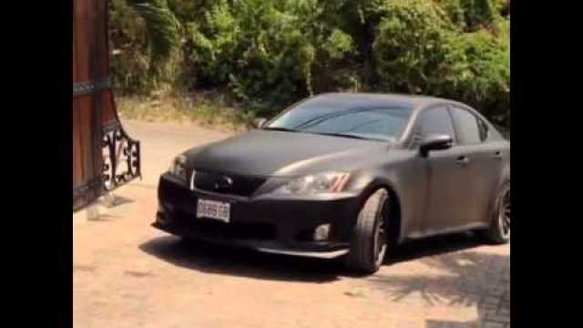 All Black Everything!! Asafa Powell Matte Black Lexus