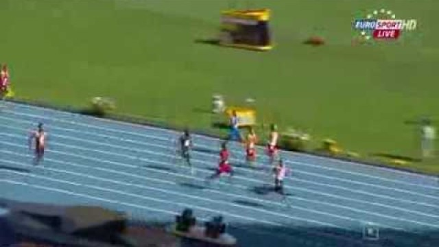 Adam Gemili (GBR) 20.17Q PB wins heat 6 200m IAAF World Champs 2013
