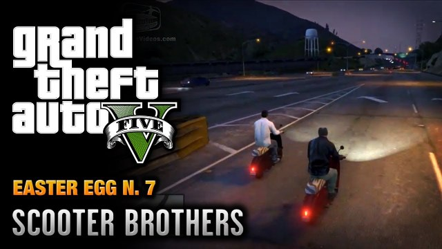 GTA 5 – Easter Egg #7 – Scooter Brothers!