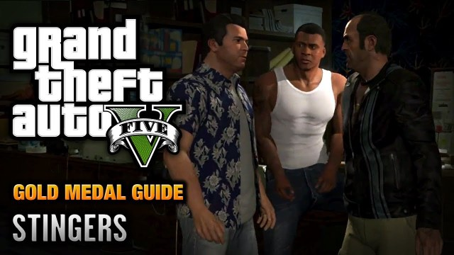 GTA 5 – Mission #73 – Planning the Big Score (Subtle) \ Stingers [100% Gold Medal Walkthrough]