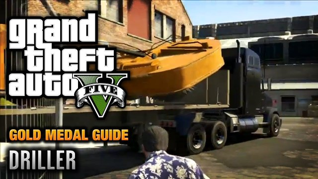 GTA 5 – Mission #77 – Driller [100% Gold Medal Walkthrough]