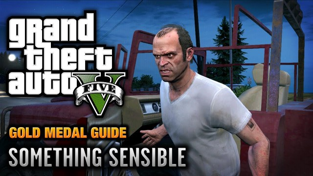 GTA 5 – Ending / Final Mission #1 – Something Sensible (Option A)