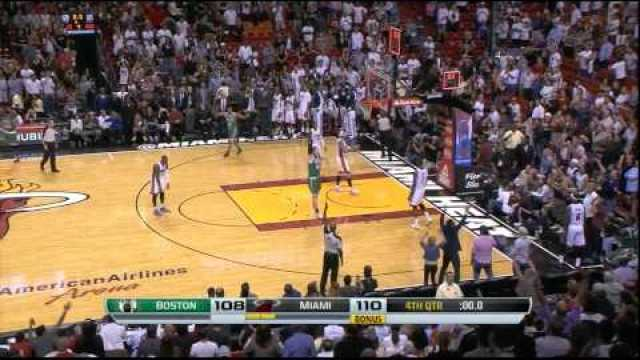NBA: Boston Celtics Jeff Green Buzzer Beater To Win Miami Heat