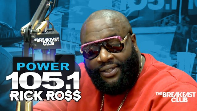 Rick Ross Interview at The Breakfast Club Power 105.1