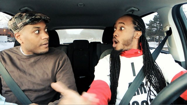 Jamaican gives a rude Trini man a driving exam