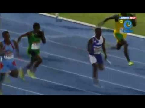 Kingston College 40.93 wins Class 2 Boys 4x100m Relay Champs 2014