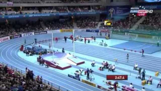 Women's 1500m Final IAAF World Indoor Champs Sopot 2014