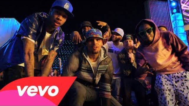 Chris Brown – Loyal ft. Lil Wayne & Tyga (Music Video)
